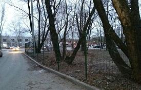 Установка ограждения на придомовой территории по адресу Бульвар Гагарина, 109