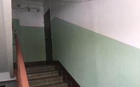 Косметический ремонт подъезда в доме по адресу ул. Пушкарская, 63