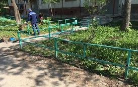 Восстановление ограждения по адресу ул. Пушкарская, 61