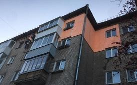 Утепление фасада дома по адресу ул. Дружбы, 23