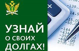 Информация о задолженности за жилищные услуги