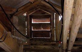 Ремонт слухового окна в доме по адресу ул. Студенческая, 22