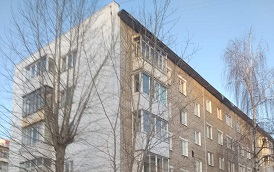 Утепление торцов фасада дома по адресу ул. Макаренко, 8