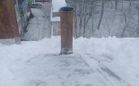 Установка продухов на крыше дома по адресу ул. Техническая, 1