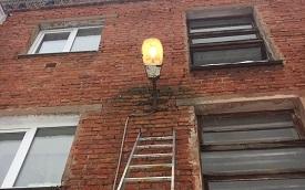 Восстановление уличного освещения