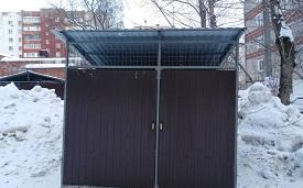 Оборудование места для складирования отходов