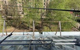 Капитальный ремонт кровли дома по адресу ул. Техническая, 1
