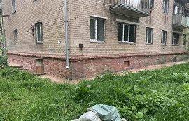 Капитальный ремонт цоколя в доме по адресу ул. Крупской, 59