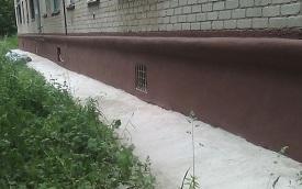 Капитальный ремонт цоколя дома по адресу ул. Крупской, 59