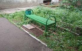 Благоустройство придомовой территории по адресу б. Гагарина, 109