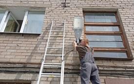 Восстановление уличного освещения в доме по адресу ул. Студенческая, 18