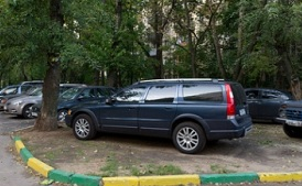 Как не получить штраф, паркуясь во дворе?